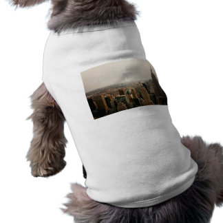 Iconic New York Cityscape Sleeveless Dog Shirt