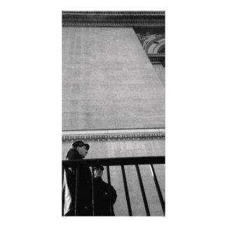 Iconic Paris Memory Customized Photo Card