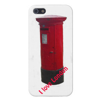 Iconic Red Letter Box iPhone Case - I Love London