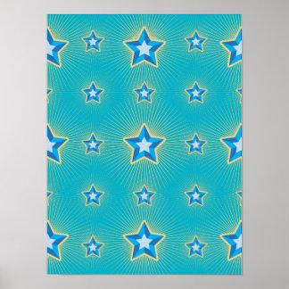 Iconic Star Print