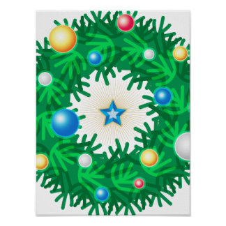 Iconic Wreath Posters