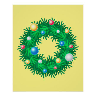 Iconic Wreath Poster