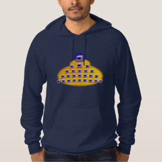 Iconographic Computer Networking Hoodie