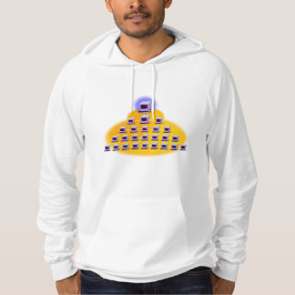 Iconographic Computer Networking Hoody