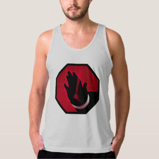 Iconographic hand signs – Stop! Tanktop