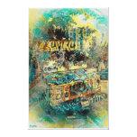 Icream graffiti truck Missiondistrict SanFrancisco Canvas Prints