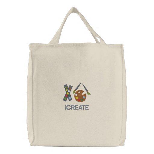iCREATE Artist Embroidered Bag