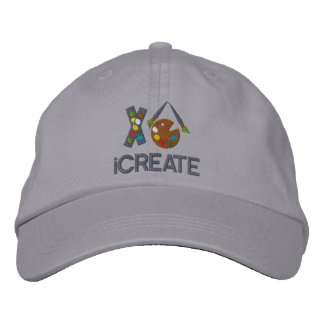 iCREATE Artist Embroidered Hats