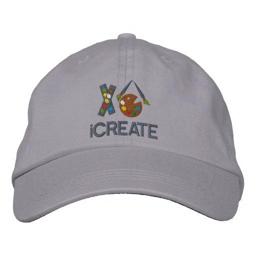 iCREATE Artist Embroidered Hat