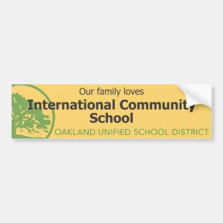 ICS Bumper Sticker