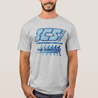ICS Network/Running Man Logo T-Shirt