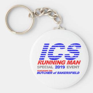 ICS Running Man Faded Key Chains
