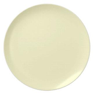 Icterine Yellow Dinner Plate