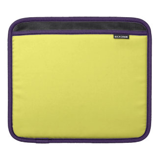 Icterine Yellow iPad Sleeves