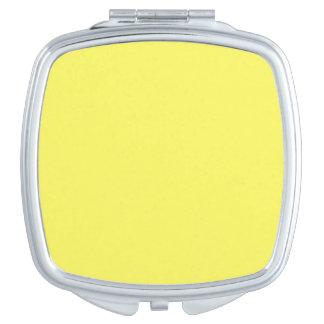 Icterine Yellow Vanity Mirrors