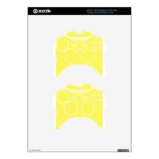 Icterine Yellow Xbox 360 Controller Skin