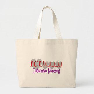 ICU INTENSIVE Nursing  Unique Gifts Canvas Bags