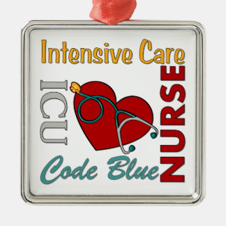 ICU - Nurse Christmas Ornament