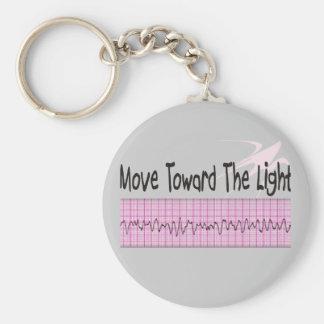 ICU Nurse Gift--Hilarious V-Fib EKG Strip Design Keychains