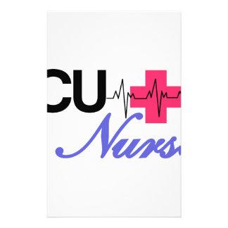ICU Nurse Personalized Stationery