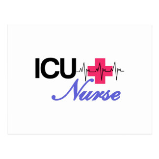 ICU Nurse Postcard