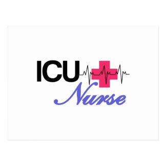 ICU Nurse Postcard