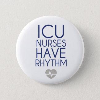 ICU Nurses 6 Cm Round Badge