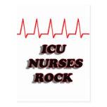 ICU NURSES ROCK POST CARDS