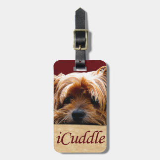 iCuddle Yorkshire Terrier Luggage Tag