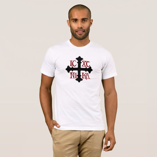 ICXC NIKA T-Shirt in White 100% Cotton