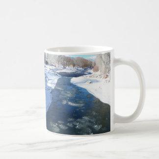 Icy Arkansas River Coffee Mug