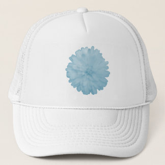 Icy Blue Marigold Hat