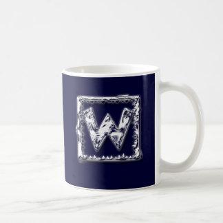 Icy Box Monogram Mugs