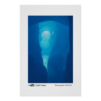 Icy Cave - Photo of the Year Finalist Poster