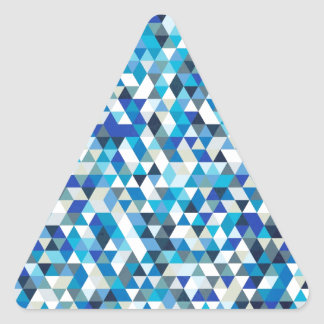 icy triangles triangle sticker