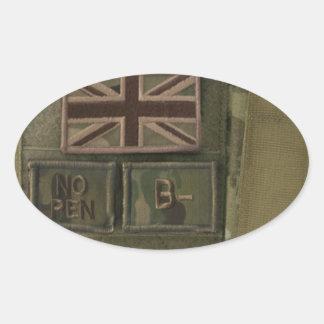 id admin pouch british army sticker
