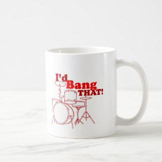 I'd Bang That! Basic White Mug
