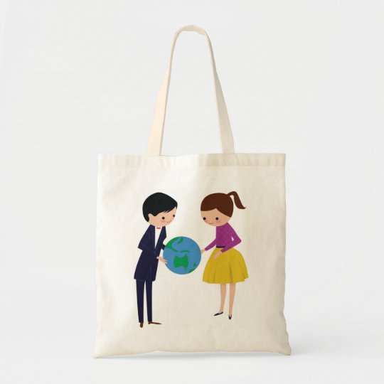 id give the world to you tote bag