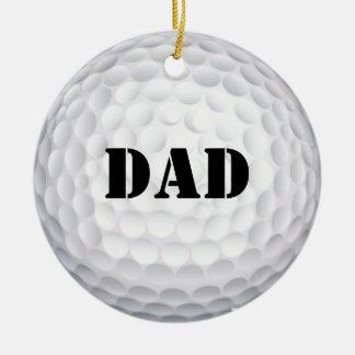 I'd Hit That! Golf  Ball Christmas Ornament