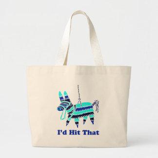 I'd Hit That Jumbo Tote Bag