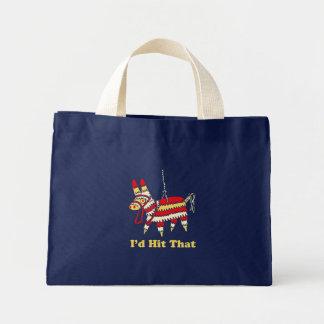 I'd Hit That Mini Tote Bag