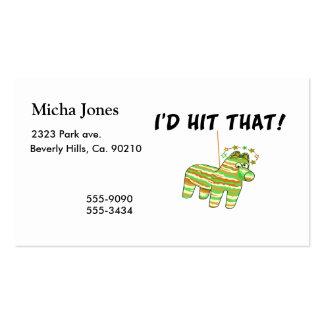 I'd Hit That Pinata Business Card