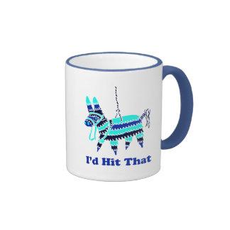 I'd Hit That Ringer Coffee Mug