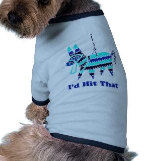 I'd Hit That Ringer Dog Shirt