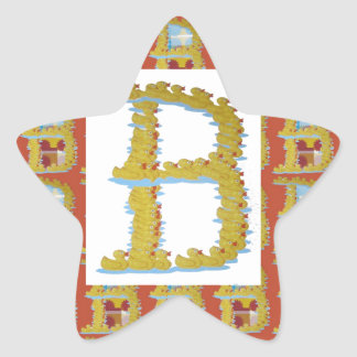 ID IDENTITY BBB alpha unique GIFT ONE TO YOU Star Sticker