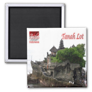 ID - Indonesia - Bali - Tanah Lot Square Magnet