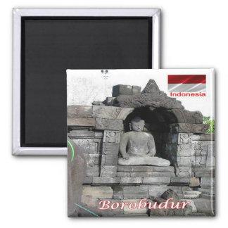 ID - Indonesia - Borobudur Square Magnet
