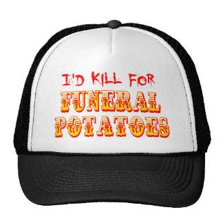 I'd Kill for Funeral Potatoes Cap