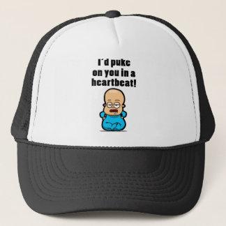 I'd Puke on you.... Trucker Hat