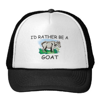 I'd Rather Be A Goat Mesh Hats